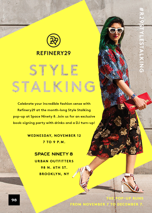 Refinery 29 Style Stalking @ UO Space 98